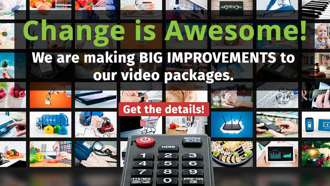 Video improvements are coming soon!